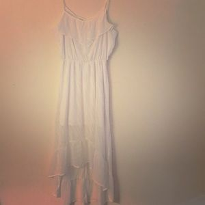 Candies White Hi-Low Sundress - Size Medium